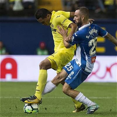 Bacca estuvo 67 minutos en el 0-0 del Villarreal frente a Espanyol