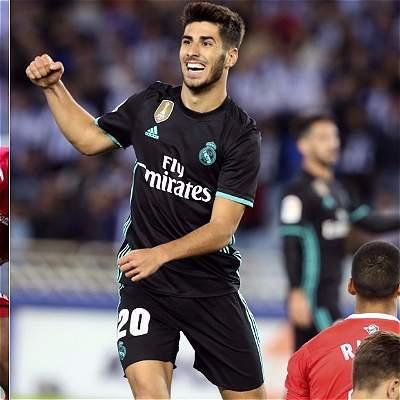 Asensio es el mejor futbolista Sub-21 y Dávinson está entre los 20