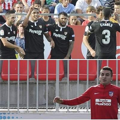 Muriel y Sevilla y una gran prueba en España: visitan al Atlético