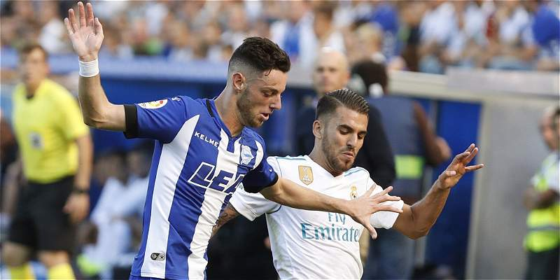 Real Madrid venció con lo justo al Alavés: 1-2 ganó el 'merengue'