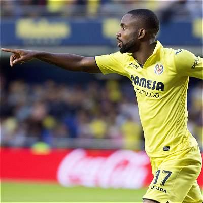 Tripleta de Bakambú en la goleada del Villarreal 3-0 al Eibar