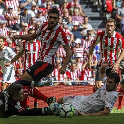 Sevilla, con Muriel los últimos 13 minutos, perdió 1-0 con Athletic