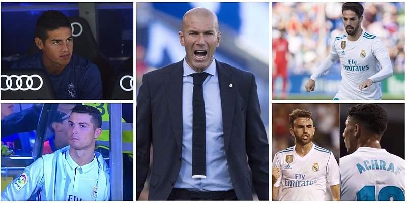 Personalidad y carácter: 5 decisiones de Zidane en sus 100 partidos