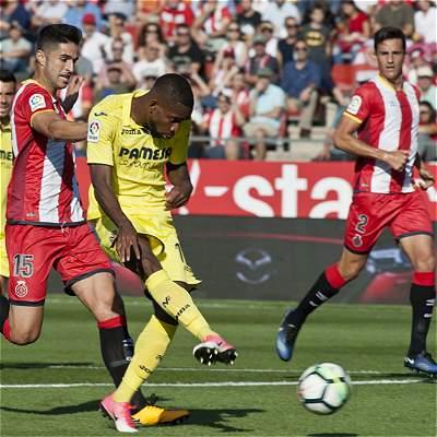 El Villarreal de Bacca se impuso 1-2 al Girona de Espinosa y Mojica