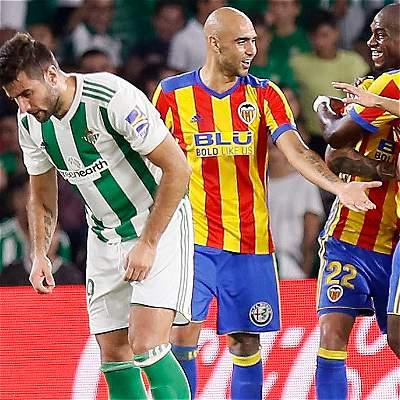 Valencia derrotó a Betis
