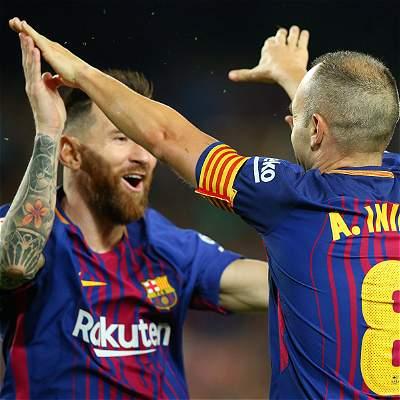 Con un gol polémico, Barcelona se impuso 2-0 al Málaga en el Camp Nou