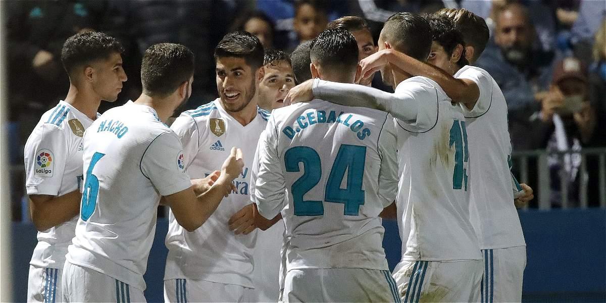 A media máquina, Real Madrid venció 0-2 a Fuenlabrada en Copa del Rey