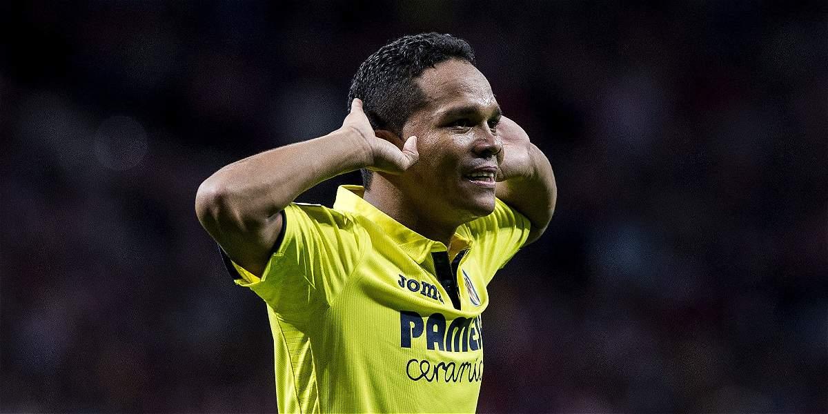 Carlos Bacca le dio el empate al Villarreal en visita al Atlético: 1-1