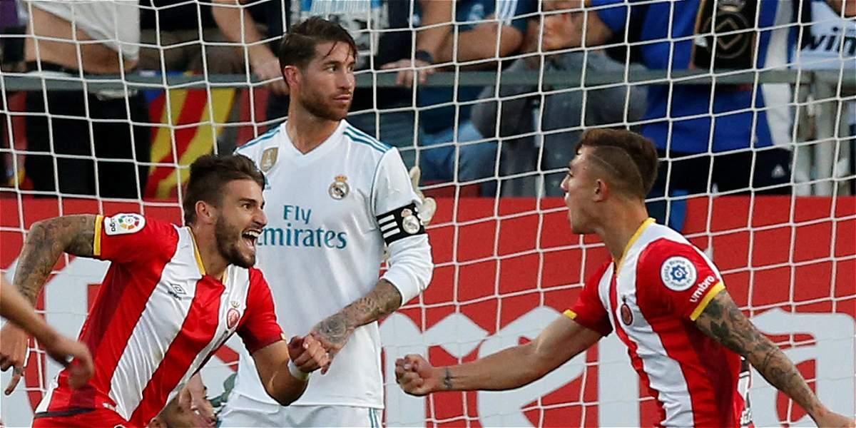 ¡Sorpresa en la Liga de España! El Girona venció 2-1 al Real Madrid