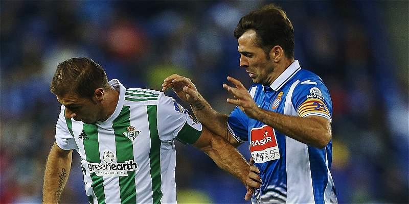 Un gol de Gerard Moreno le bastó al Espanyol para vencer al Betis