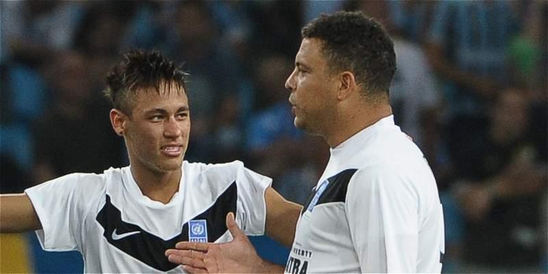 Ronaldo y Neymar