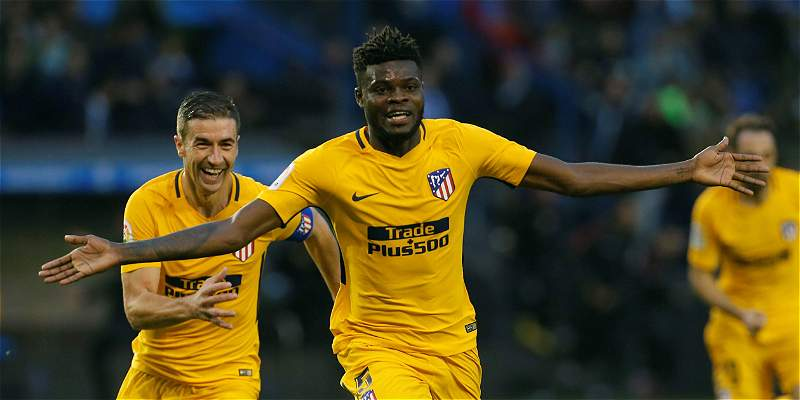 Thomas le dio los tres puntos al Atlético, que venció 0-1 al Deportivo