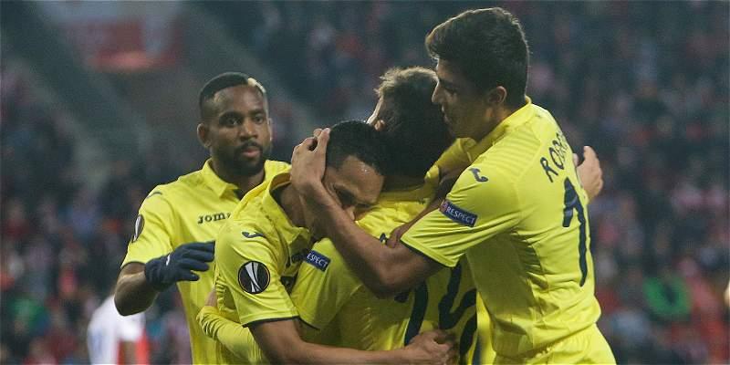 Asistencia de Bacca, en la victoria 2-0 de Villarreal sobre Málaga