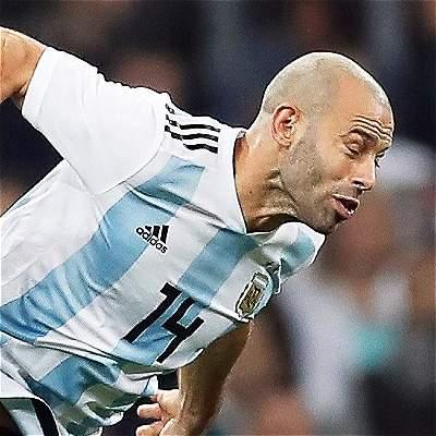 Mascherano estará un mes de baja por lesión en Argentina-Nigeria