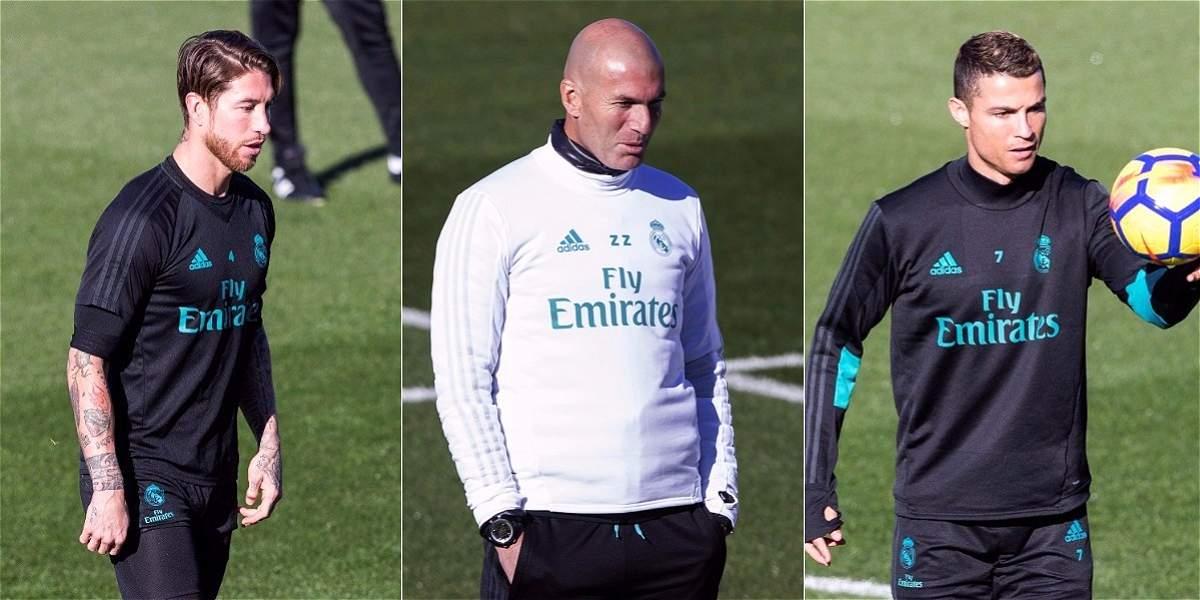 'Ramos y Cristiano pueden opinar lo que quieran, no hay lío': Zidane
