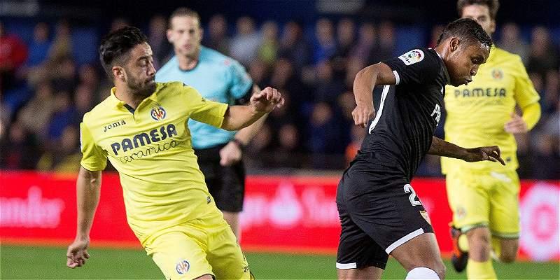 Gol de Bacca y buen juego de Muriel en triunfo de Sevilla a Villarreal