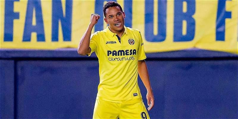 Gol de Carlos Bacca para triunfo de Villarreal en Copa del Rey