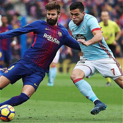 Barcelona no pudo con el Celta de Vigo e igualó 2-2 en el Camp Nou