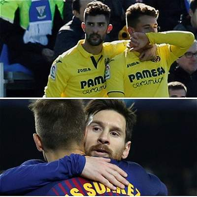 Villarreal, sin Carlos Bacca, espera ponerle freno a Barcelona en Liga