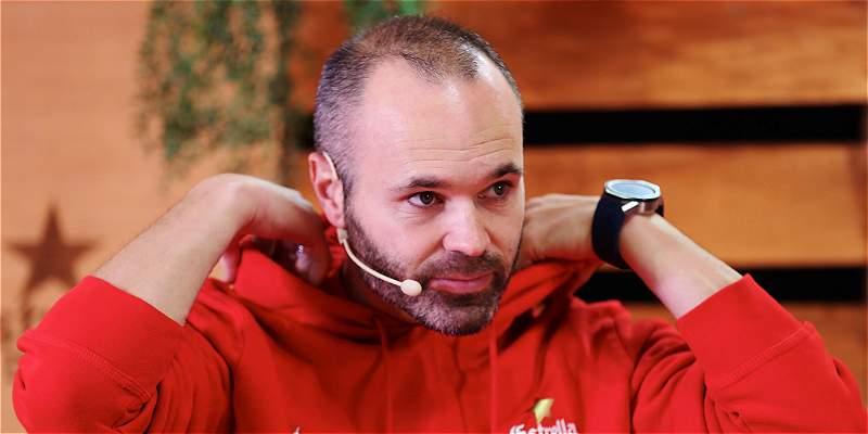 'Yerry Mina sería un refuerzo importante para el Barcelona': Iniesta