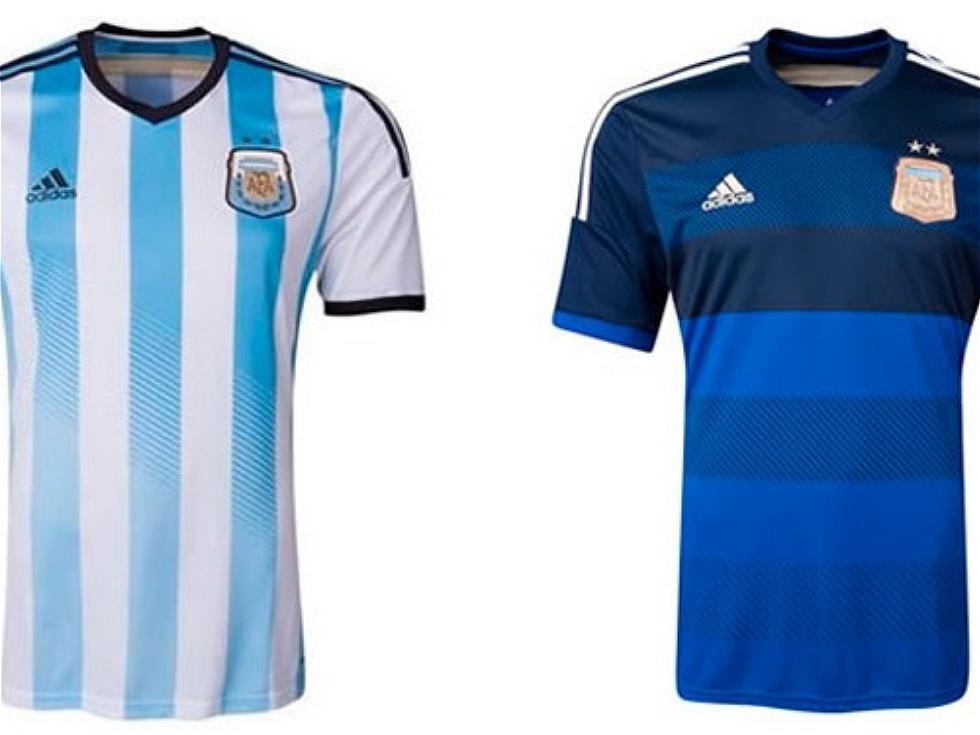 camiseta seleccion argentina 2014 azul