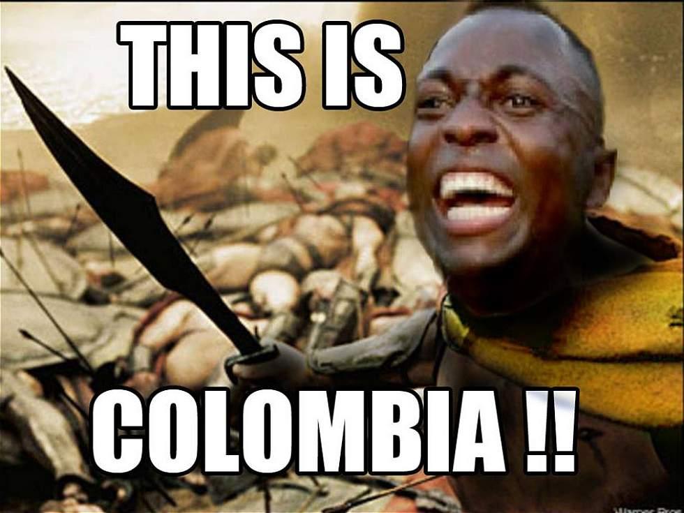 IMAGEN 14120139 2 los 'memes' m�s divertidos que dej� la goleada de colombia sobre,Colombia Meme