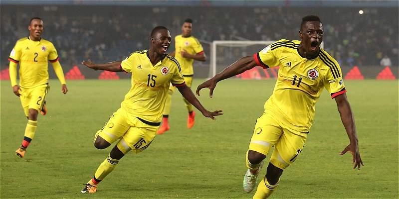 Colombia Sub 17 Mundial India
