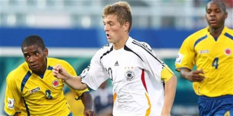 La Selección Colombia ya ha enfrentado a Alemania en Mundiales Sub-17