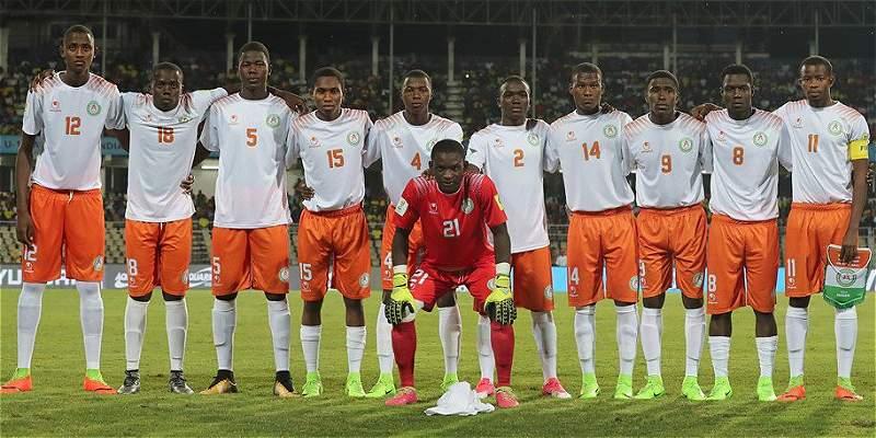 Níger Sub-17, la selección con 7 futbolistas que nacieron en año nuevo