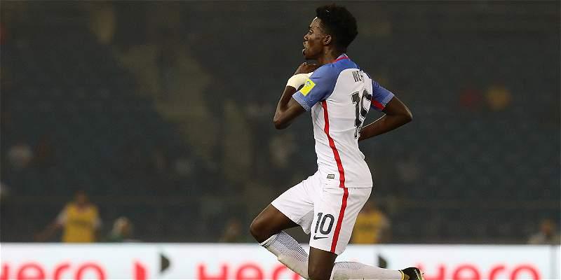 Con un 5-0, Estados Unidos daña el sueño de Paraguay en Mundial Sub 17