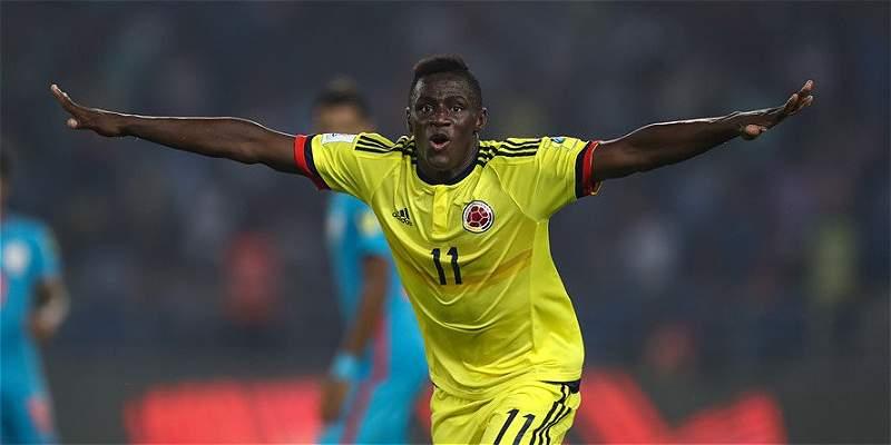 Juan Sebastián Peñaloza, lo mejor de Colombia en el Mundial Sub 17