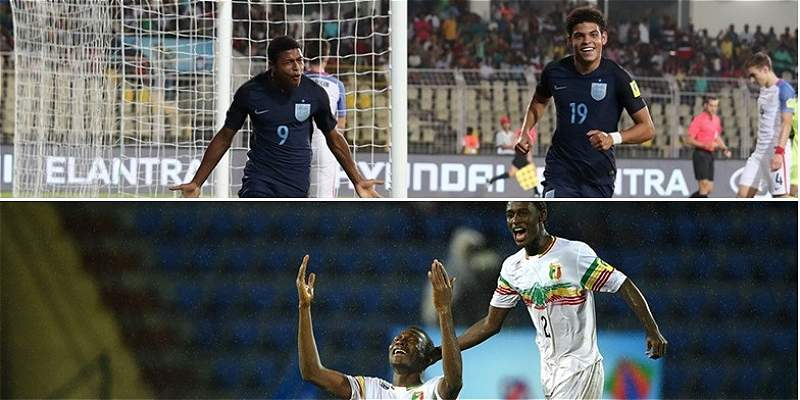 Inglaterra y Malí, a las semifinales del Mundial Sub-17 de la India