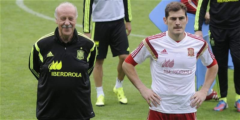 Contra Bielorrusia, Del Bosque cumplirá 100 partidos como DT de España