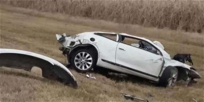 Detalles de la muerte del futbolista argentino: manejaba a 195 km/h