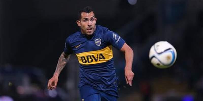 Carlos Tévez marcó su primer gol desde que volvió a Boca Juniors