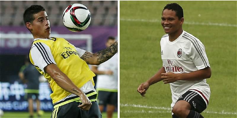 Real Madrid-Milan: otra excusa para ver a los colombianos en la élite