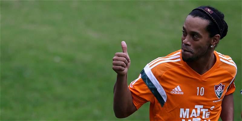 El debut de Ronaldinho con Fluminense, atractivo de la fecha en Brasil