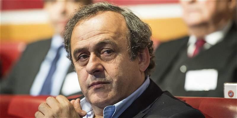 Platini sigue recibiendo apoyo en busca de presidencia de la Fifa