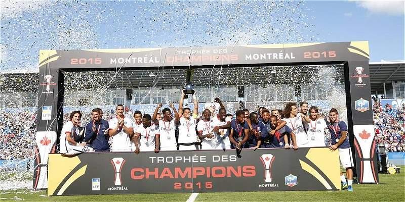 PSG campeón de la Supercopa de Francia