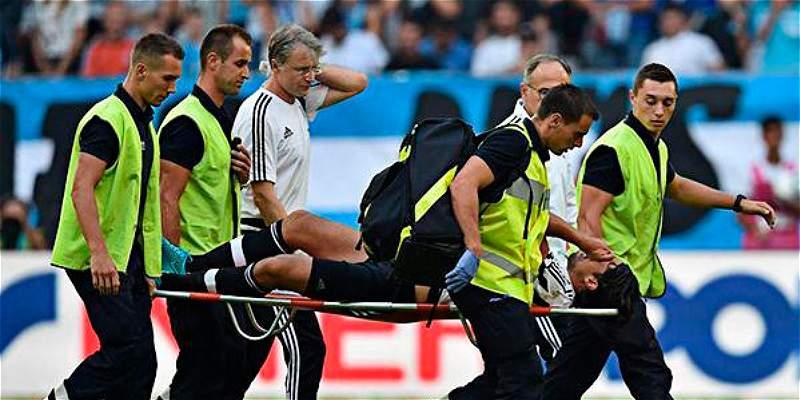 Khedira se lesionó en amistoso que Juventus perdió contra Marsella