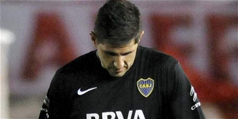 Otra brutal salida de Agustín Orión, que terminó en penal y expulsión