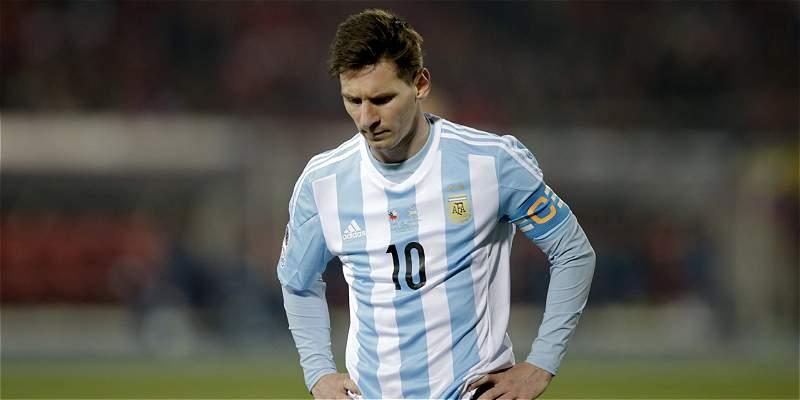 Messi sí estará en amistoso de Argentina contra México
