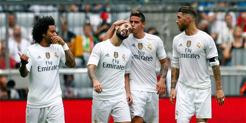 Así le fue a James en el juego entre Real Madrid y Tottenham
