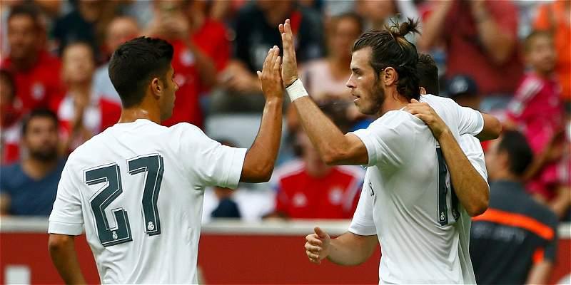 Real Madrid venció 2-0 a Tottenham y jugará la final de la Audi Cup