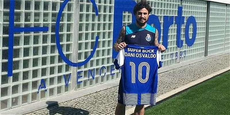 Pablo Osvaldo reemplazará a Jackson Martínez en el ataque del Porto