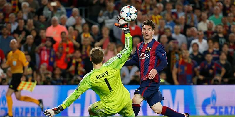 Gol Messi a Bayern en Champions, el mejor de la temporada en Europa
