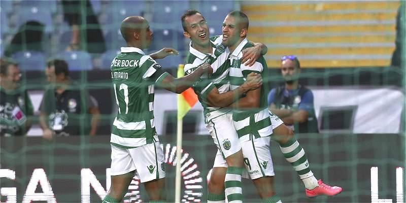 Con \'Teo\' en la cancha, Sporting venció 1-3 a Académica