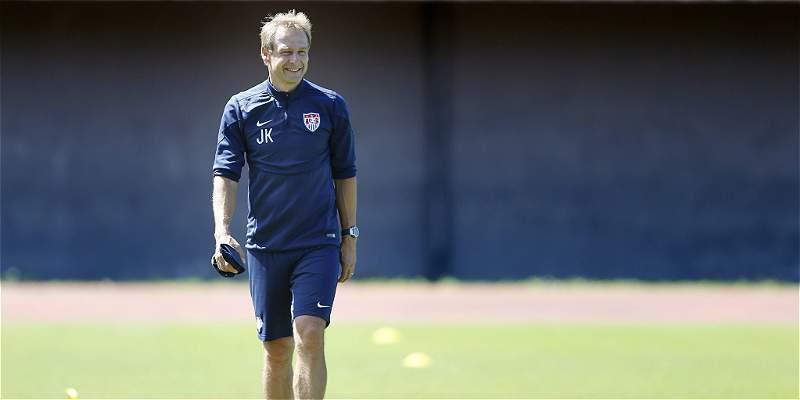 Klinsmann, DT de Estados Unidos, convocó 7 jugadores de origen latino