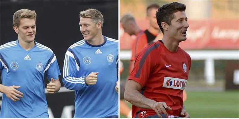 Rumbo a la Euro 2016: Alemania y Polonia disputan liderato del grupo D