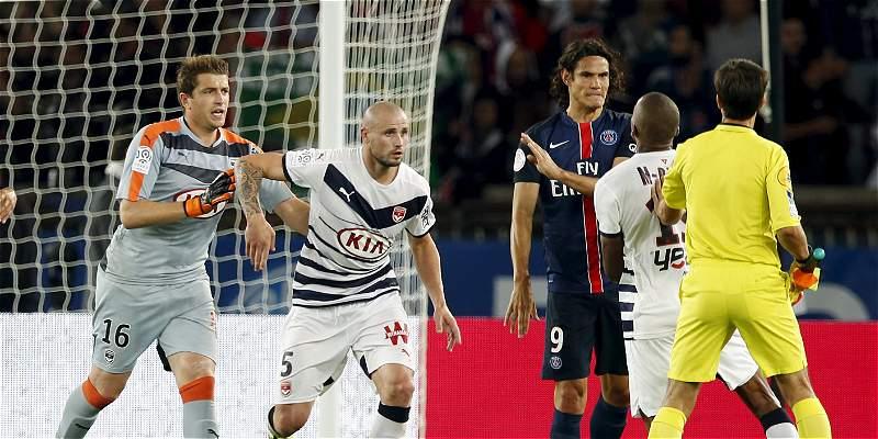 Primer pinchazo del PSG ante el Girondins